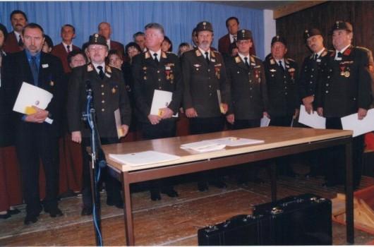 Prejemniki odlikovanj GZ Slovenije