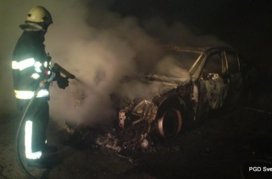 Požar na vozilu Rogašovci - Fikšinci