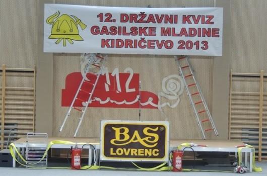 12.Državni kviz gasilske mladine Kidričevo 2013