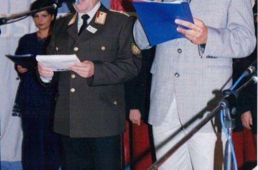 Manfred Seidel, predsednik gasilcev iz Avstrije