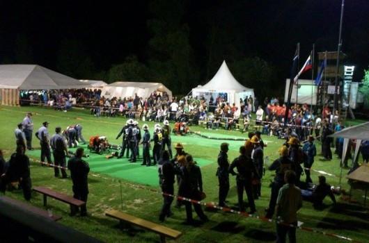 1.nočno gasilsko tekmovanje za pokal Ledavskega jezera
