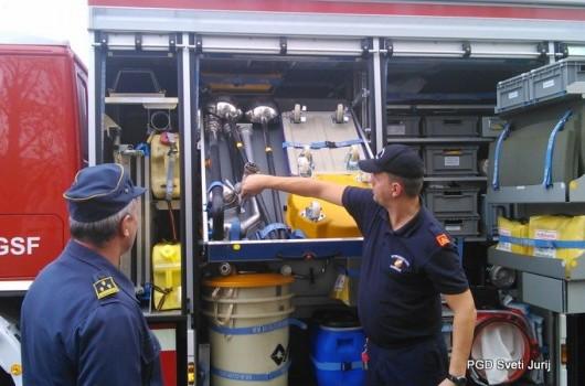 Obisk gasilcev v tovarni Boxmark - Feldbach