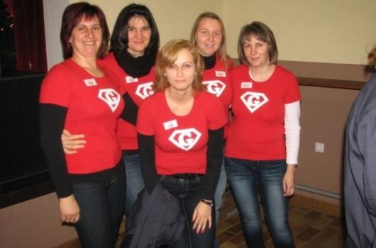 Marjetka, Melita, Bernardka, Sandra, Zdenka