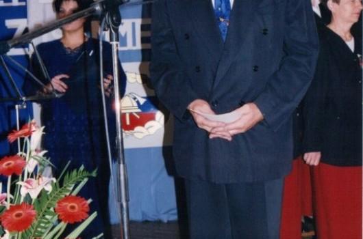 Janko Halb, župan občine Rogašovci