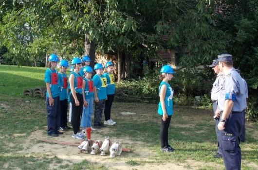 Pertoški mladinci pripravljeni na vajo