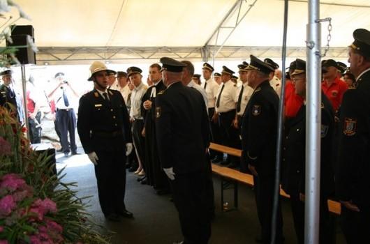Predaja raporta regijskemu poveljniku