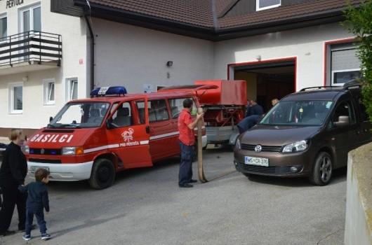 Priprava na odhod na regijsko tekmovanje v Ljutomer 2013