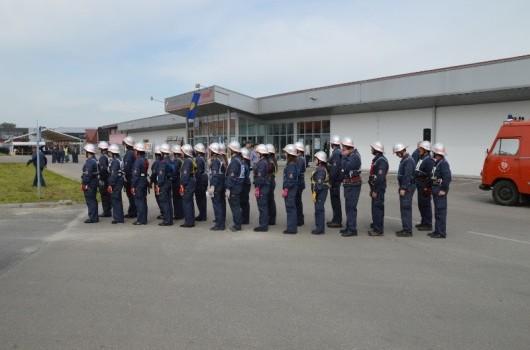 Pertoške gasilke in gasilci na regijskem tekmovanju v Ljutomeru 2013