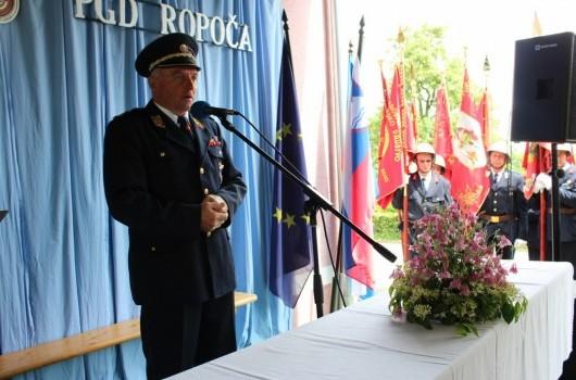 Poveljnik GZ Cankova Štefan Flisar