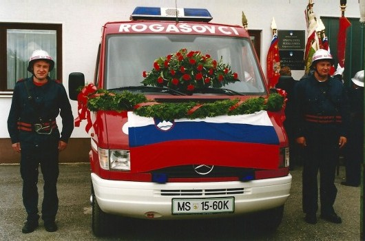 Prevzem GV-1 1998