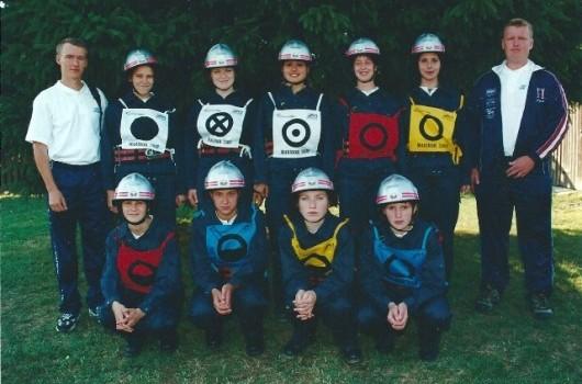 Državno gasilsko tekmovanje Maribor 2000