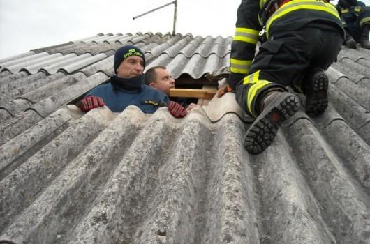 Odkrita streha Sveti Jurij