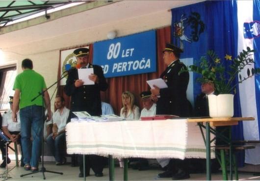 80 let PGD Pertoča