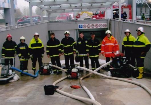 Pomoč gasilcev PGD Serdica ob poplavah v Ljubljani - september 2010