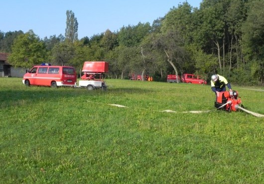 Občinska gasilska vaja 2012