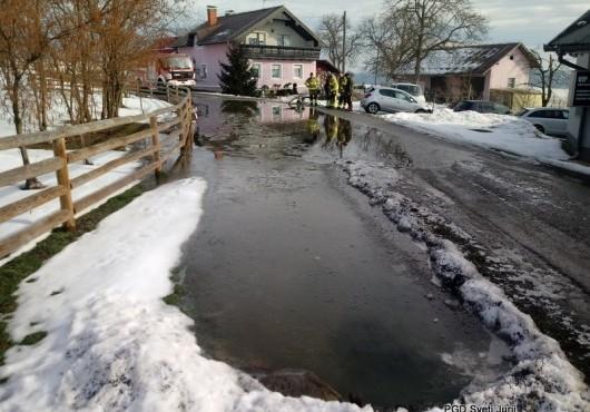 Poplavljanje - Večeslavci