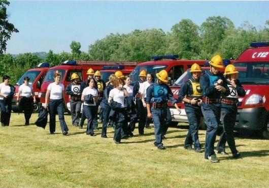 Občinsko gasilsko tekmovanje v Ropoči 2010