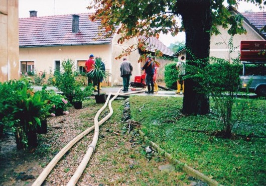 Poplave v Serdici - avgust 2005