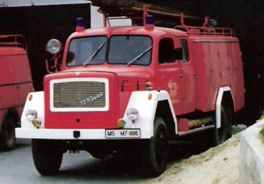 Prevzem avtocisterna 1992